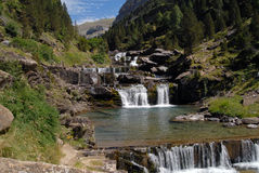 The Soaso harrows in Aragonese Pyrenees Stock Photography