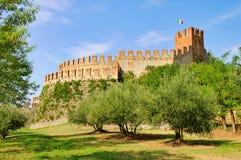 Soave Castello Fotografering för Bildbyråer
