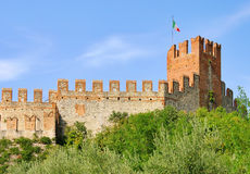 Soave Castello Royalty Free Stock Photography