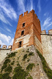 Soave Castle Keep - X Century - Verona Italy Royalty Free Stock Photo