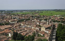 Soave, old town Italy royalty free stock image