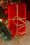 Sob a árvore de Natal Imagem de Stock