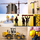 Sob a construção Imagens de Stock Royalty Free