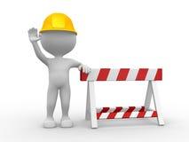 Sob a construção Fotografia de Stock Royalty Free