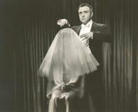 Sob a hipnose Foto de Stock