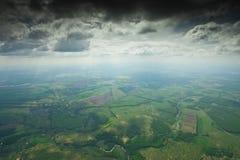 Sob a nuvem Imagens de Stock Royalty Free
