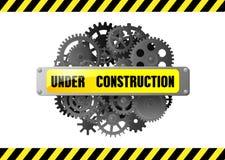 Sob o aviso do página da web da construção Fotos de Stock Royalty Free