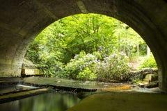 Sob o bridgw Foto de Stock Royalty Free