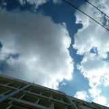 Sob o céu Imagem de Stock