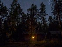 Sob o céu da estrela Fotos de Stock Royalty Free