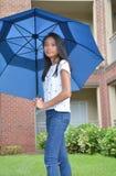 Sob o guarda-chuva foto de stock royalty free