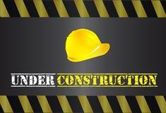Sob o logotipo da construção Fotografia de Stock