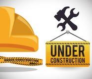 Sob o projeto da construção Imagem de Stock Royalty Free
