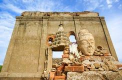 Sob o templo da água Fotos de Stock