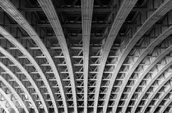 Sob a ponte, Londres imagens de stock royalty free