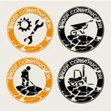 Sob selos das construções Imagem de Stock Royalty Free