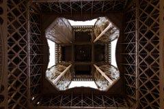sob a torre Eiffel Foto de Stock