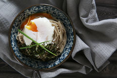 Soba del huevo Imagenes de archivo