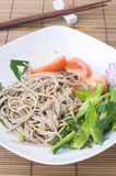Soba noodle Stock Photography