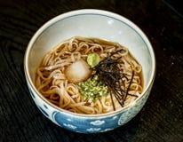 Soba noodle Japanese food cuisine Stock Image