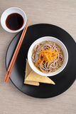 Soba noodle soup Royalty Free Stock Images