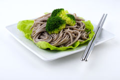 Soba Noodles royalty free stock images