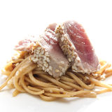 Soba Noodles Stock Photography