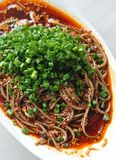 Soba noodles Royalty Free Stock Image