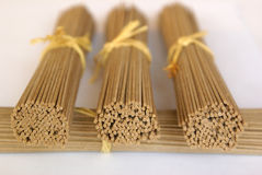 Soba noodles Royalty Free Stock Photos