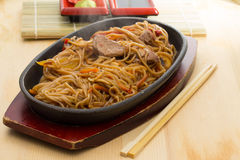 Soba noodles Stock Photography