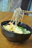 Soba tempura obraz stock