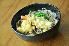 Soba tempura Zdjęcia Stock