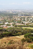 Sobborghi di Città del Capo - vista aerea Immagini Stock
