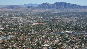 Sobborghi di Las Vegas Fotografia Stock Libera da Diritti