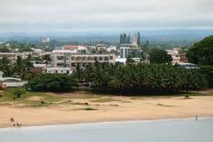 Sobborgo della città, Toamasina, Madagascar Fotografia Stock
