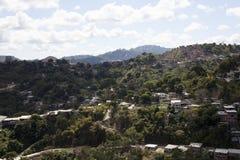Sobborgo di Favela Immagine Stock