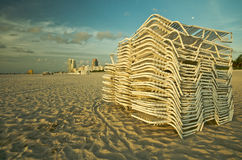SoBe Chairs Stock Photo