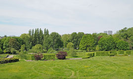 Sobieski Parc in Brussels Royalty Free Stock Photography