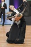 Sobolevskiya Iliya und Standardprogramm Buldyk Arina Perform Youth-2 über nationale Meisterschaft lizenzfreie stockfotos