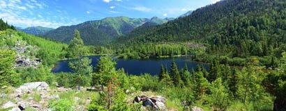 Sobolowi jeziora fotografia royalty free