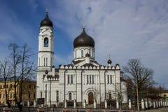 Sobor Arkhangela Mikhaila v Lomonosove, Sankt-Peterburg 库存照片