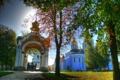 Sobor de Mihailovskiy imágenes de archivo libres de regalías