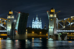 Sobor de Smolny Foto de Stock Royalty Free