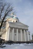 Sobor Svyatoy Zhivonachalnoy Troitsy em St Petersburg, Rússia Fotos de Stock Royalty Free