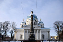 Sobor Svyatoy Zhivonachalnoy Troitsy in St Petersburg, Russia Royalty Free Stock Photography
