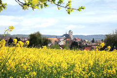 Sobotka, tjeckisk stad och rep Royaltyfri Fotografi