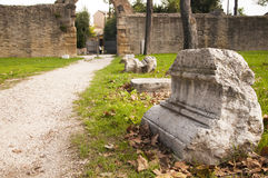 Sobras de Roman Empire Foto de Stock