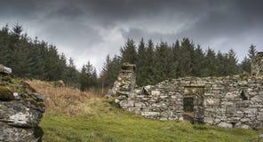 Sobras do assombro do distrito de Arichonan em Escócia Foto de Stock