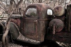 Sobras do caminhão velho do cavalo do trabalho Fotografia de Stock Royalty Free