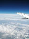 Sobre as nuvens Imagens de Stock Royalty Free